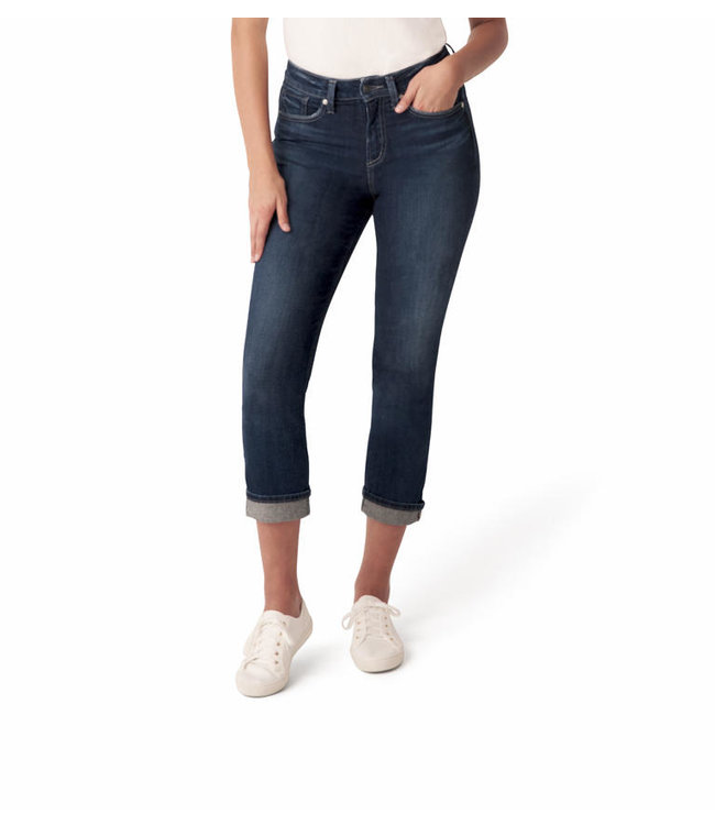 SILVER JEANS Avery Straight Crop
