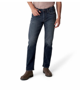 SILVER JEANS EDDIE RELAXED FIT TAPERED LEG JEANS