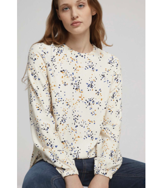 TOM TAILOR Blouse with a gathered collar