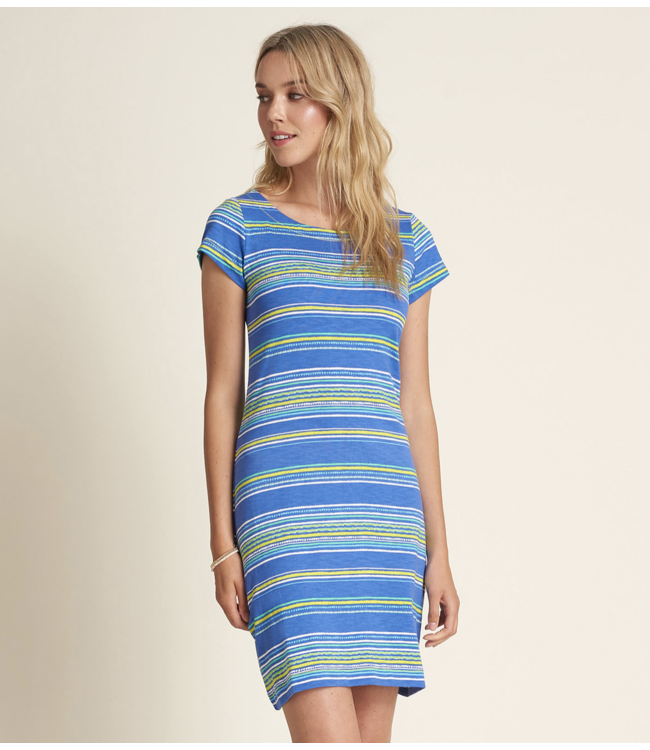 Nellie Dress - Textured Stripes