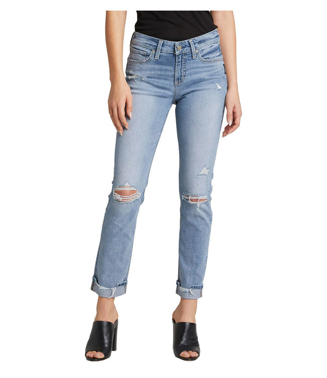 SILVER JEANS AVERY STRAIGHT