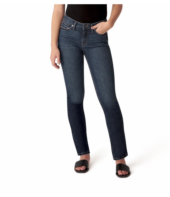Most Wanted Universal Fit Mid Rise Straight Leg