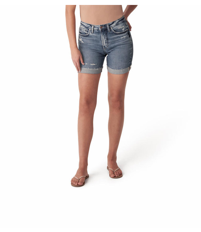 SURE THING  LONG SHORT UNIVERSAL FIT HIGH RISE