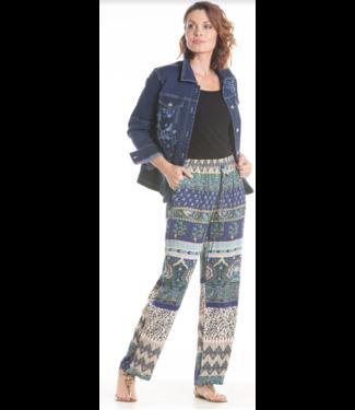 Nu Look Fashions Printed Pants with drawstring