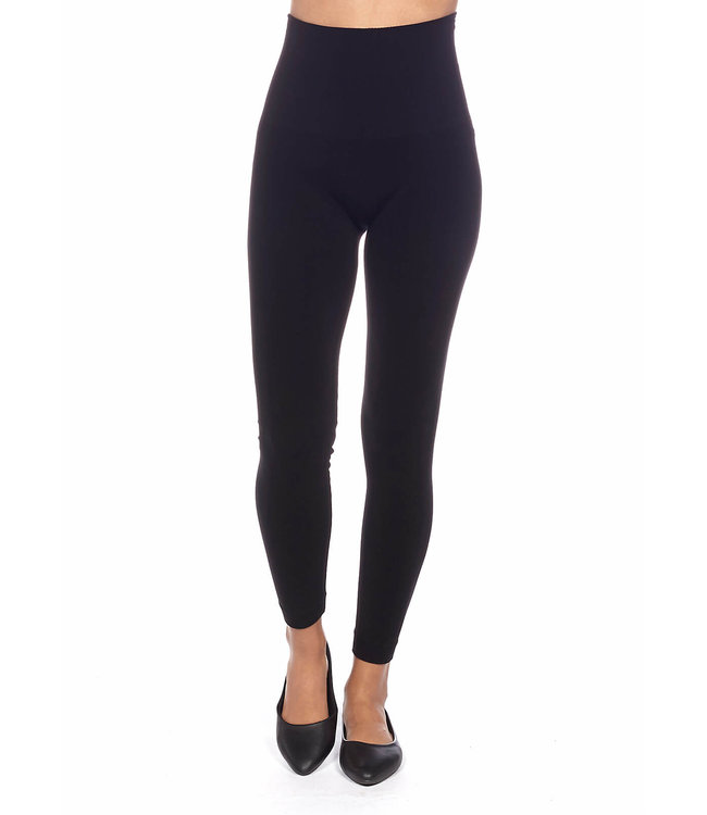 Bamboo Seamless Control-Top High-Waisted Legging with 6″ Waistband