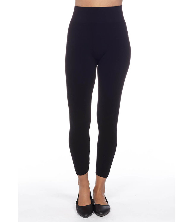 Bamboo Seamless Classic High-Waisted Legging with 3″ Waistband