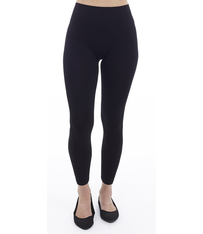 The Perfect Fit High Rise Cotton Full Length Legging with Wide Waistband