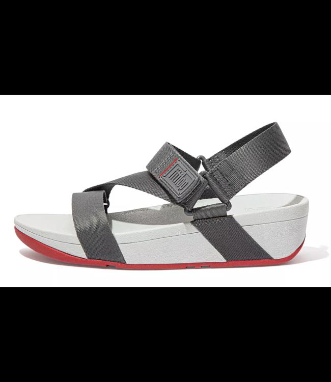 SURFA  Woven-Logo Z-Strap Sandals