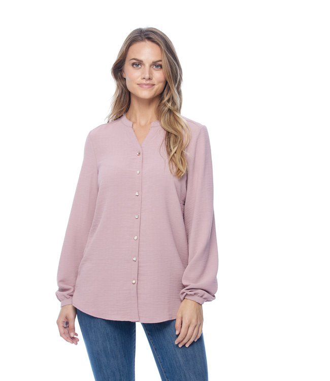 Blouse with Button Detail