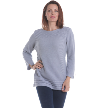 Nu Look Fashions Long Sleeve Cable Knit Sweater