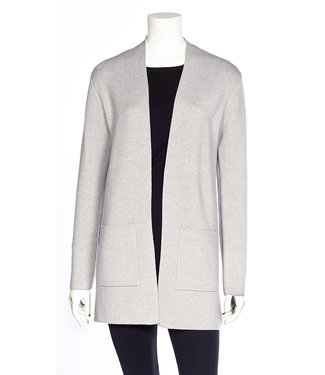 DKR Apparel Long Sleeve Open Cardigan with Patch Pockets
