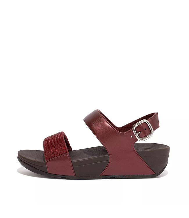Lulu Crystal Embellished back strap Sandals