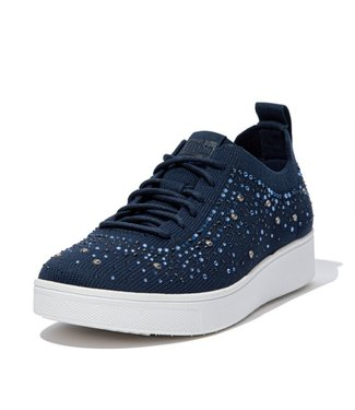 FIT FLOP Rally Ombre Crystal Knit Sneakers
