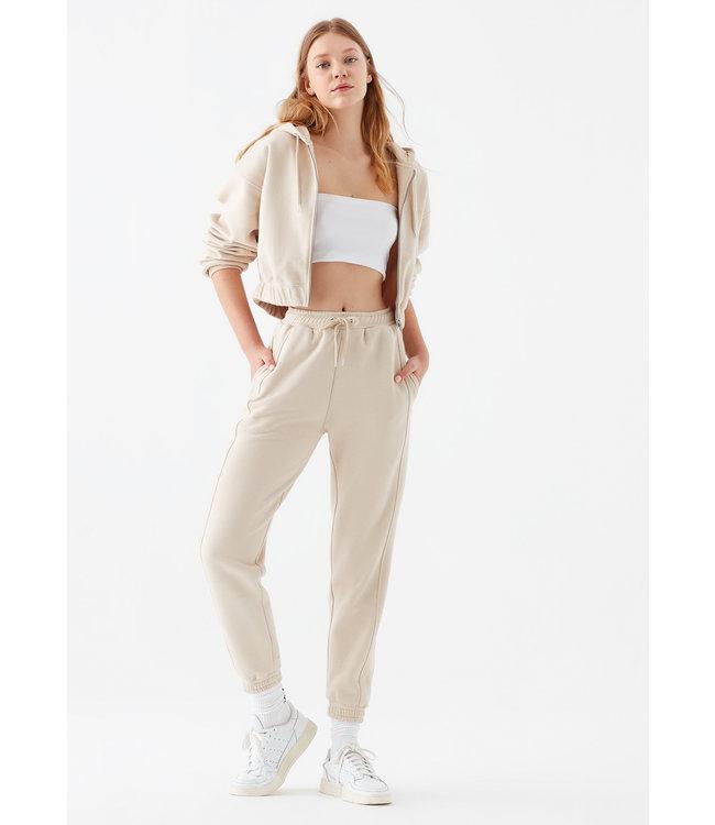 MAVI JEANS Regular Fit Cropped zip up Hoodie
