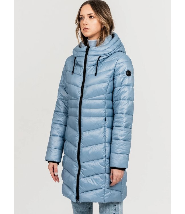 HAILEY  Long quilted midweight puffer jacket