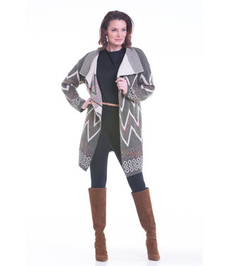 Nu Look Fashions Long Body Full Length Cardigan