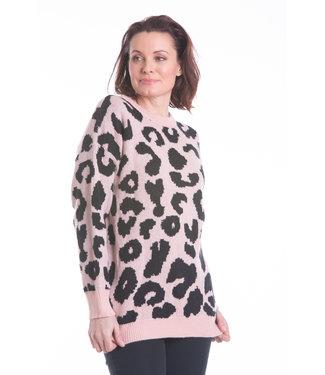 Nu Look Fashions Cheetah Print Sweater