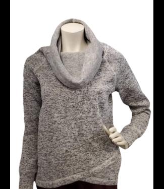 POINT ZERO Point Zero sweater with large cozy cowl neck