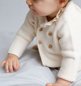 Organic Cotton Cardigan - 3 months