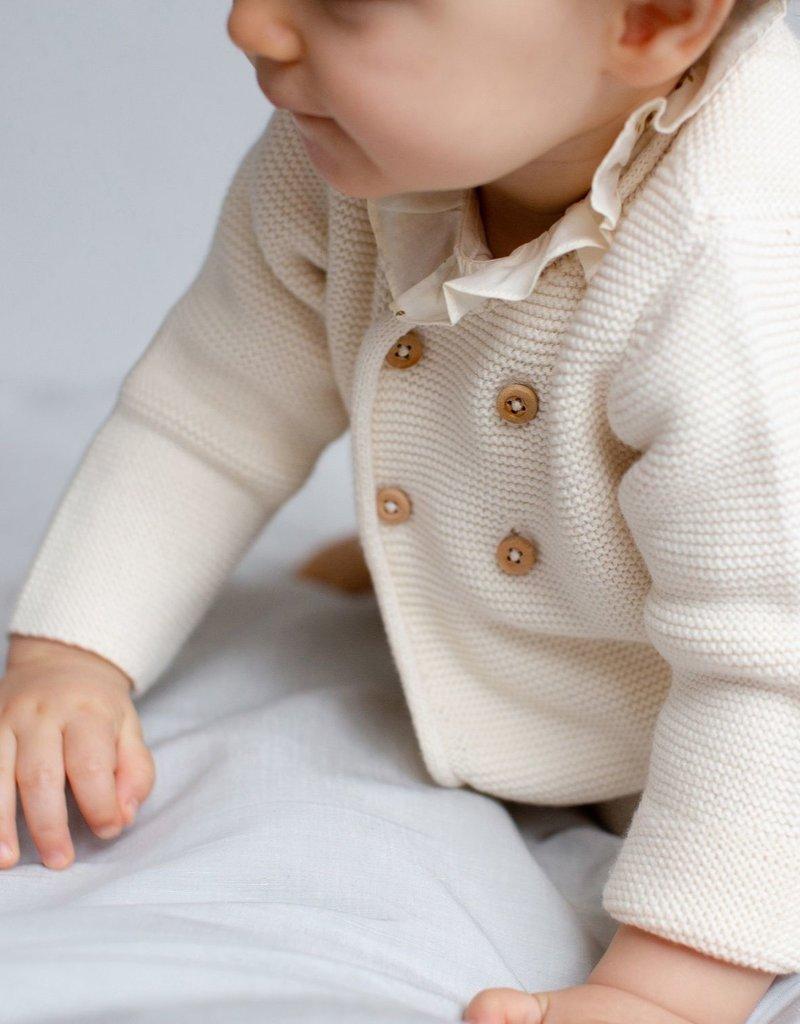 Organic Cotton Cardigan - 3 months