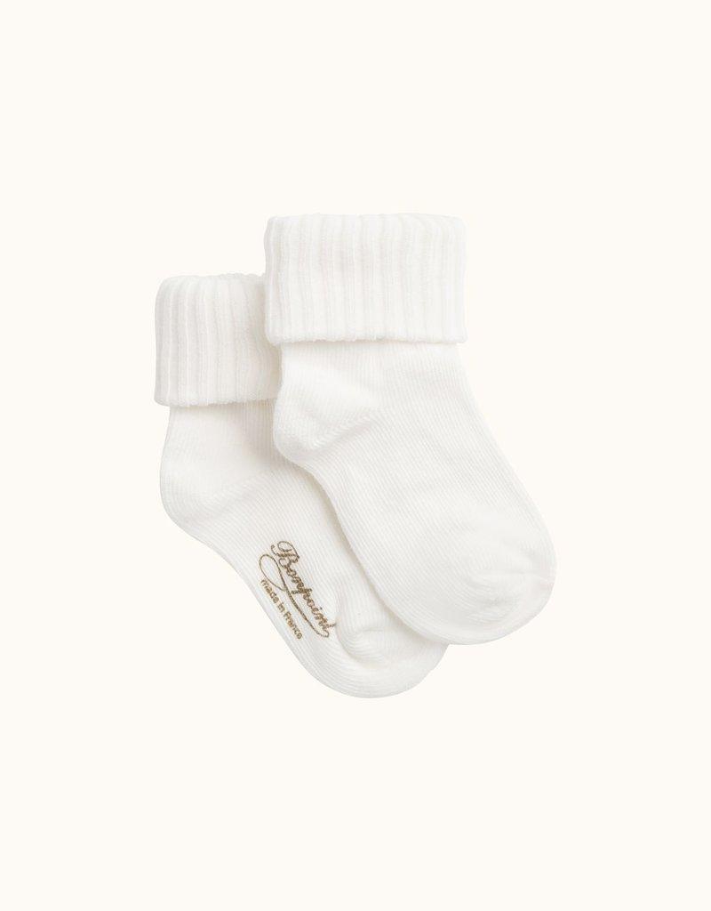 White Baby Socks