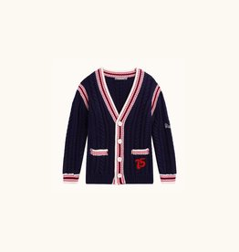 Patch and Cable Cardigan