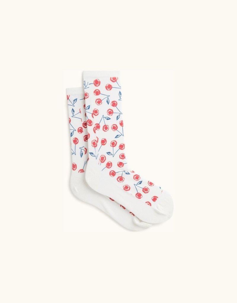 Cherry Print Socks