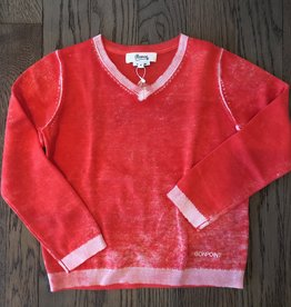 Weathered Red Sweater