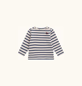 Indigo Stripe Sweater
