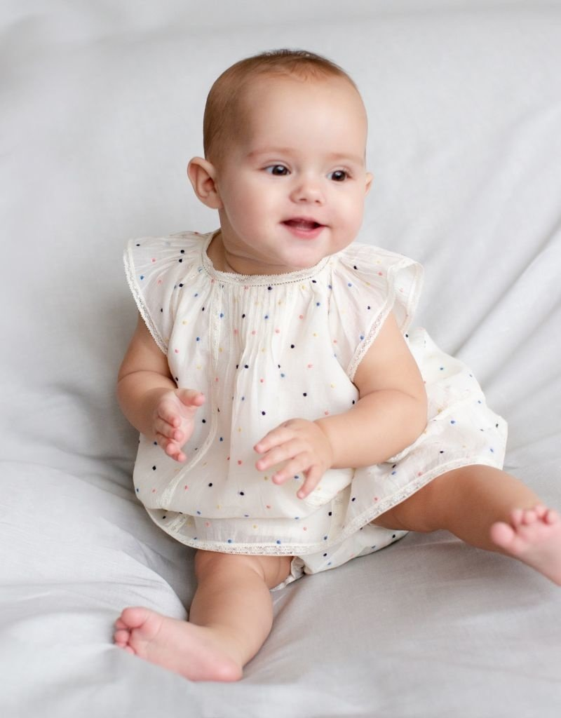Lilly2 Dress and Bloomers - 6 Months