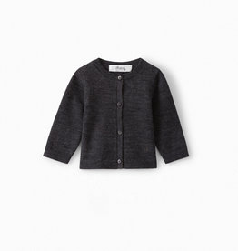 Dark Grey Cardigan - 6 Months