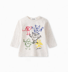 Speckled Monster Shirt - 3 Years