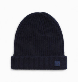Navy Cashmere Toque