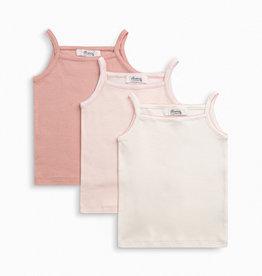3 Pink Undershirts Set