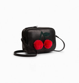 Black Pompon Bag