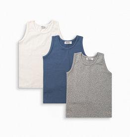 3 Undershirts Set