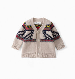 Knit Dino Cardigan