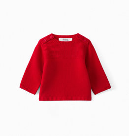 Knit Red Sweater