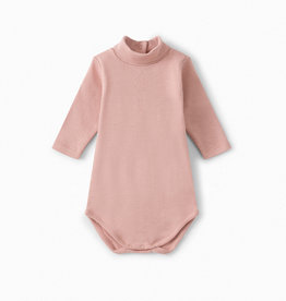 Pink Turtleneck Onesie