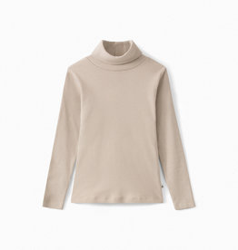 Beige Turtleneck