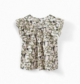 Nilune Smocked Blouse