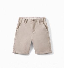'Six' Cotton Twill Bermuda Shorts