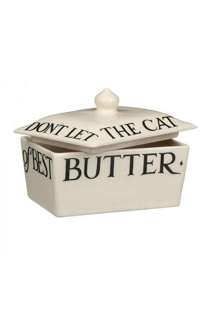 Butter Dish - Black Toast