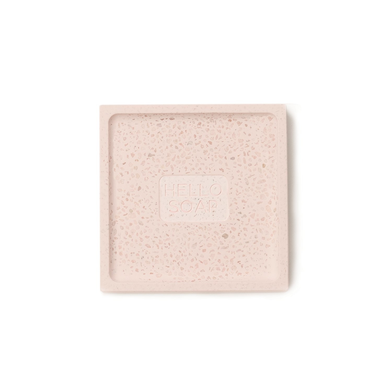 "Pink ""Hello Soap"" Dish-2"
