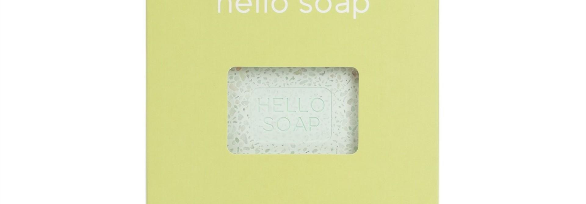"Green ""Hello Soap"" Dish"