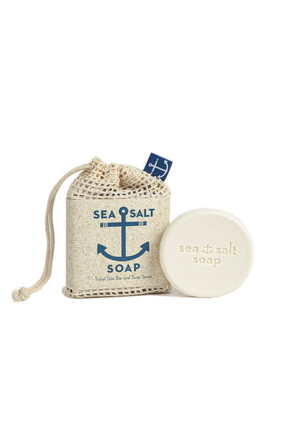 Swedish Dream - Sea Salt Soap Travel Size Bar & Bag
