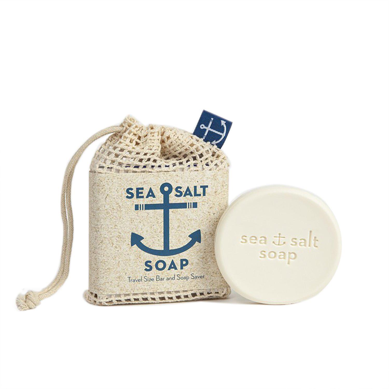 Swedish Dream - Sea Salt Soap Travel Size Bar & Bag-1