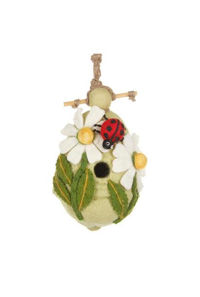 Ladybug - Felt Bird House