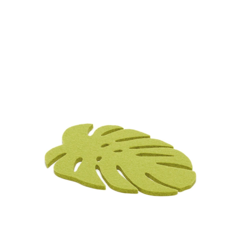 Monstera Trivet Small - Pistachio-2