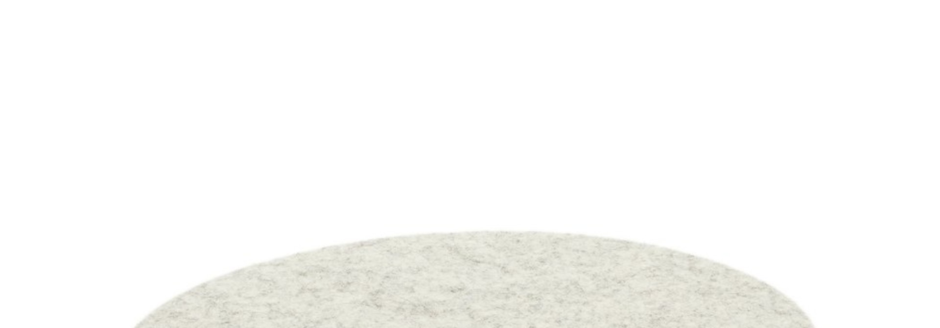 Felt Trivet Stone Medium - Heather